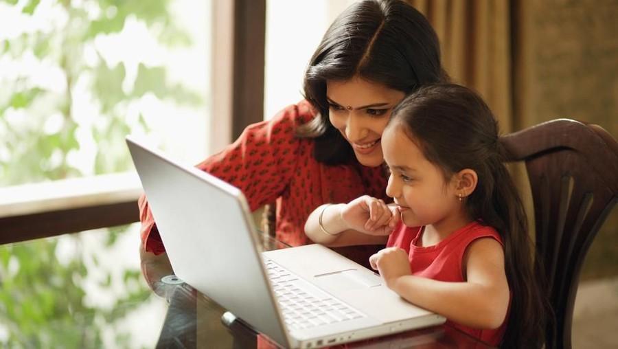 Bun, Ini Cara Agar Anak Produktif Belajar saat Social Distancing