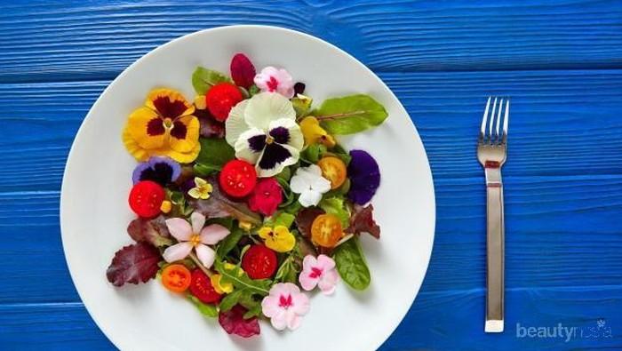 Jenis dan Khasiat dari Edible Flowers yang Bisa Kamu Konsumsi, Jangan Lupa Dicatat Ya!