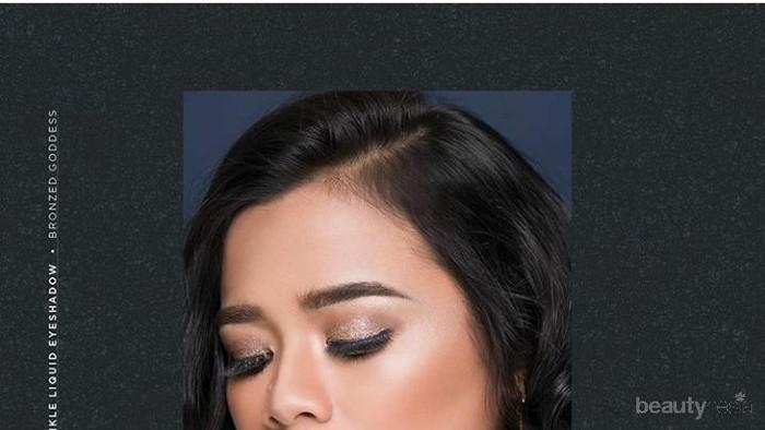 Gampang Diblend, Twinkle Liquid Eyeshadow Mineral Botanica untuk Daily dan Glam Look
