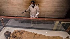 'Menghapus' Corona dari Peninggalan Firaun di Mesir