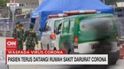 VIDEO: Pasien Terus Datangi Rumah Sakit Darurat Corona