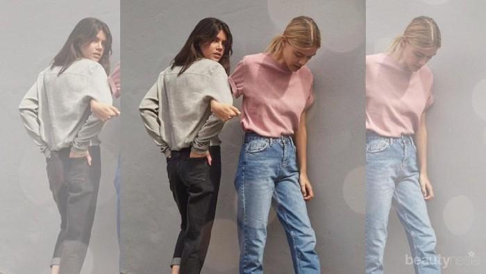 Tampil Kekinian dengan 5 Inspirasi Mix and Match Mom Jeans Ini Yuk!