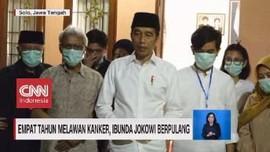 VIDEO: Empat Tahun Melawan Kanker, Ibunda Jokowi Berpulang