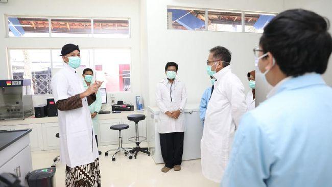 Laboratorium pemeriksa Covid-19 untuk wilayah Jawa Tengah itu berada di Kota Salatiga.
