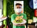 FOTO: Sepotong 'Corona' di Meja Makan