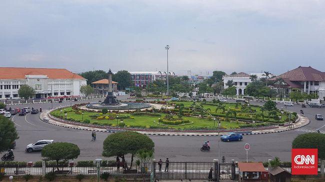 Landscape tugu muda Kota Semarang