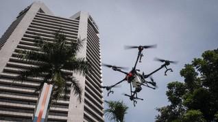 Polisi Akan Gunakan Drone Awasi Kemacetan dan Demo Rusuh
