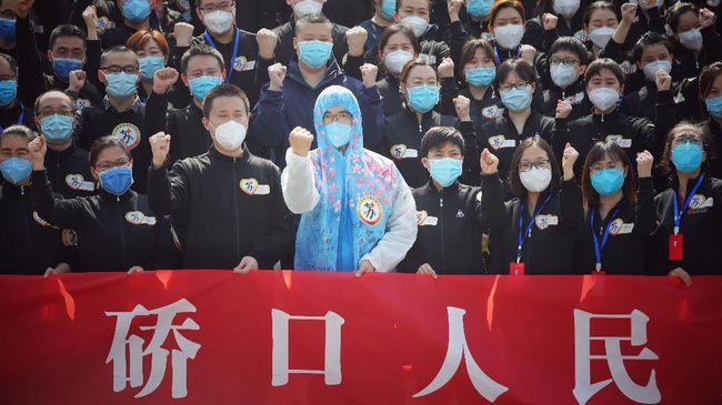 Peneliti Inggris menyebut kebijakan lockdown Kota Wuhan China berhasil memblokir lebih dari 700 ribu kasus baru Covid-19.