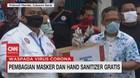 VIDEO: Pemuda & Buruh Bagikan Masker & Hand Sanitizer Gratis