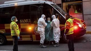 PM Spanyol Ancam Berlakukan Darurat Corona di Madrid