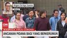 VIDEO: Ancaman Pidana Bagi Yang Berkerumun