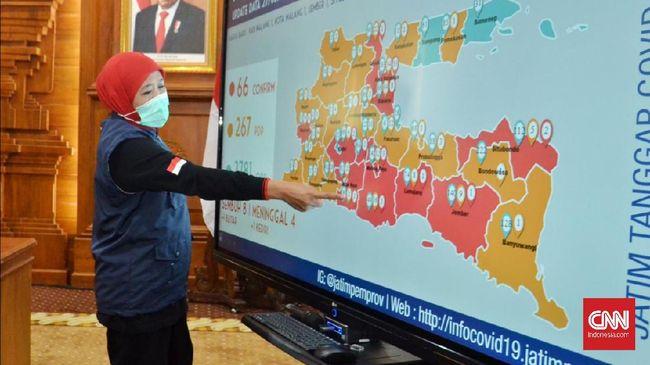 Gubernur Jatim menambah alokasi anggaran untuk penanganan corona menjadi Rp2,384 T dari yang sebelumnya Rp260 M.