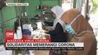 VIDEO: Ibu-ibu Produksi Masker untuk Dibagikan Gratis