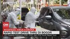 VIDEO: Rapid Test 'Drive Thru' di Bogor