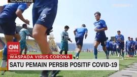 VIDEO: Wander Luiz, Pemain Persib Positif Covid-19