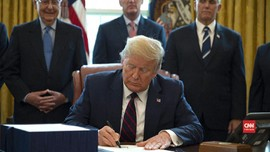 VIDEO: Trump Beri Stimulus US$2 Triliun Atasi Corona