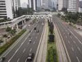 Jelang PSBB Jakarta, Polisi Belum Batasi Akses Jalan Ibu Kota