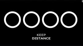 Update Corona, VW dan Audi Ubah Logo Jadi 'Social Distancing'