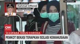 VIDEO: Pemkot Bekasi Terapkan Isolasi Kemanusiaan