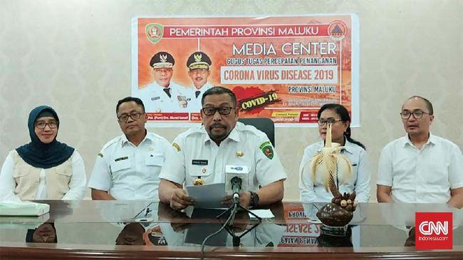 AA, pasien positif corona pertama di Maluku akhirnya dinyatakan sembuh setelah menjalani perawatan hampir dua pekan di RSUD Haulussy, Ambon.