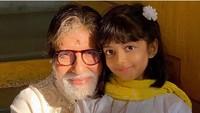 <p>Foto: Agak beda, ini seleb cilik asal Bollywood, Aaradhya, anak Aishwaryarai dan Abisekh. Dia sayang banget pada kakeknya, Bun, Amitabh Bachan (Foto:Instagram@aishwaryaraibachchan_arb) </p>
