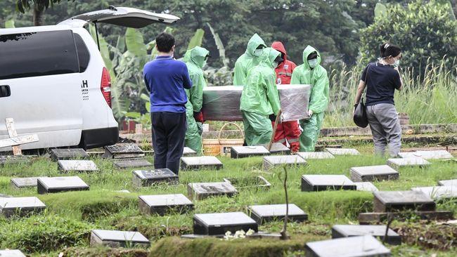 Lonjakan Kematian Covid 19 Di Indonesia Tertinggi Hari Ini