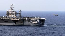 Armada Kapal Induk AS Masuk Laut China Selatan
