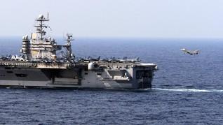 ASEAN Tolak Klaim China, Kapal Induk AS Latihan di LCS