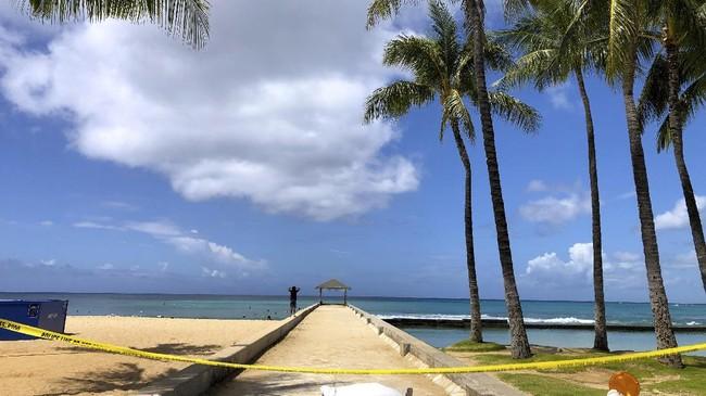 Hawaii, salah satu destinasi wisata bahari andalan dunia, sedang ditinggalkan turis akibat pandemi virus corona yang semakin gawat.