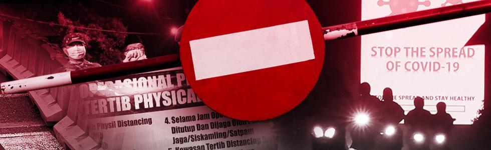 PP Pembatasan Sosial Resmi Berlaku