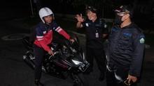 Pemudik Arus Balik Lebaran Mulai Melintas di Cianjur