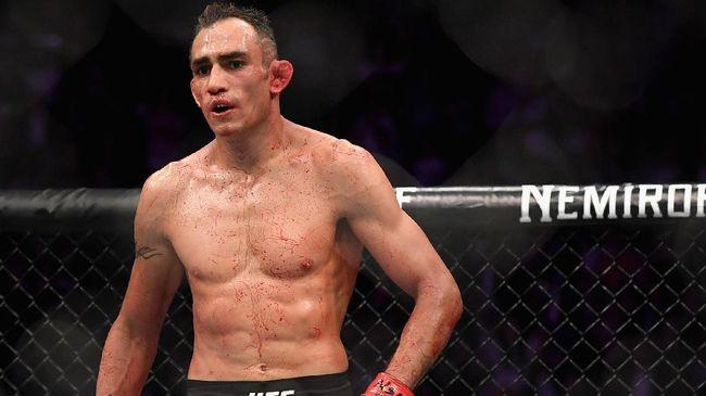 Duel UFC 249 antara Tony Ferguson melawan Justin Gaethje menguntungkan Khabib Nurmagomedov dan membuat rugi Conor McGregor.