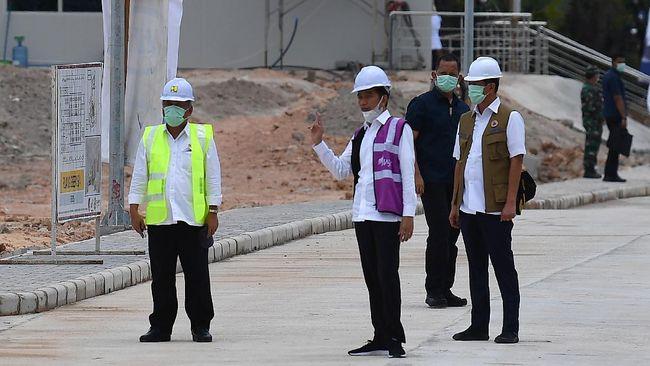 Menteri PUPR Basuki Hadimuljono menyebar anggaran Rp10 triliun untuk program padat karya tunai (PKT), di antaranya Rp225 juta per lokasi proyek irigasi.