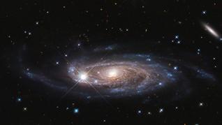 NASA Temukan Galaksi Berbentuk Seperti Pesawat Star Wars