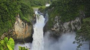Air Terjun Ponot Tertinggi di Indonesia Hampir Dua Kali Monas