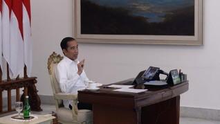 Jokowi: Kebijakan Mudik Masih Dibicarakan di Tingkat Menko