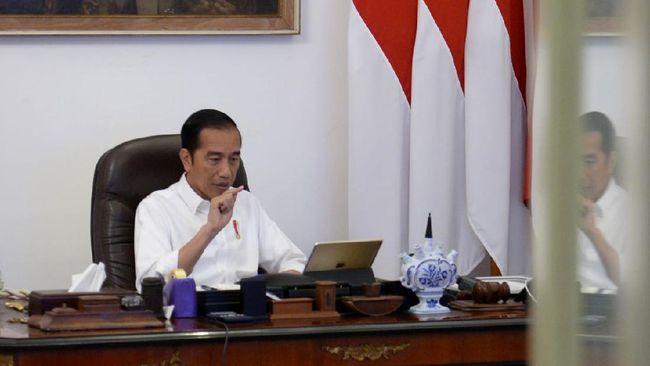 Jokowi Janjikan Bansos, Rayu Warga Jabodetabek Tak Mudik