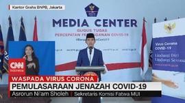 VIDEO: Pemulasaraan Jenazah Covid-19