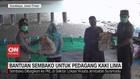 VIDEO: Bantuan Sembako Untuk Pedagang Kaki Lima