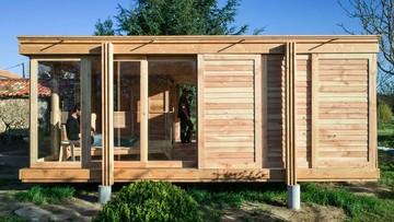 Rumah Minimalis Dari Kayu Di Prancis Luasnya Cuma 35 Meter Persegi