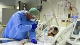 Jumlah kasus virus corona di Italia dilaporkan mulai menurun, dan memberi secercah harapan bagi penduduk setempat.