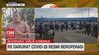 VIDEO: RS Darurat di Pulau Galang Resmi Beroperasi