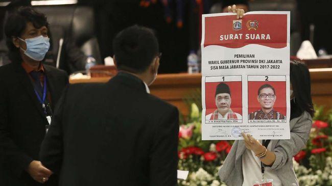 PKS Legawa Riza Patria Terpilih Jadi Wagub DKI Jakarta
