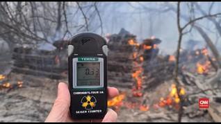 VIDEO: Kebakaran di Dekat Chernobyl, Level Radiasi Meningkat