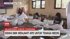 VIDEO: Siswa SMK Menjahit APD untuk Tenaga Medis