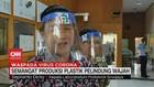 VIDEO: Mahasiswa Produksi APD Pelindung Wajah