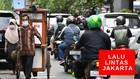 VIDEO: Kondisi Jalan di Jakarta Ramai Lancar