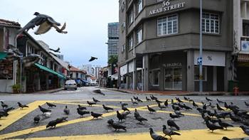 Singapura Lockdown Ketat Satu Bulan