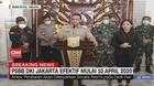 VIDEO: Kerumunan di Atas 5 Orang Akan Ditindak, Saat  PSBB