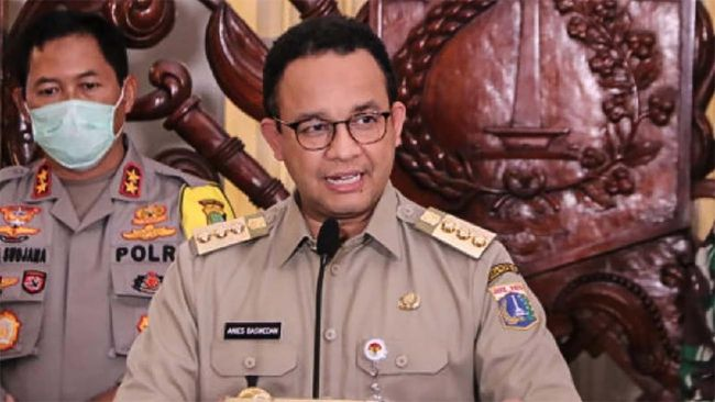 Anies Minta Tak Ada Spekulasi soal TPU Jasad Covid Habis